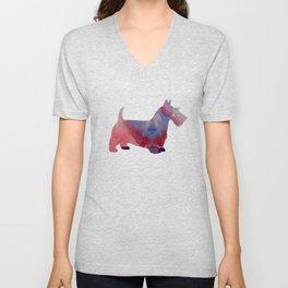 Scottish Terrier Unisex V-Neck