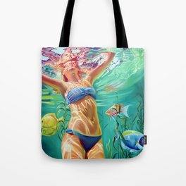 My home is the ocean Tote Bag