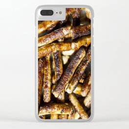 SAUSAGES, YES Clear iPhone Case