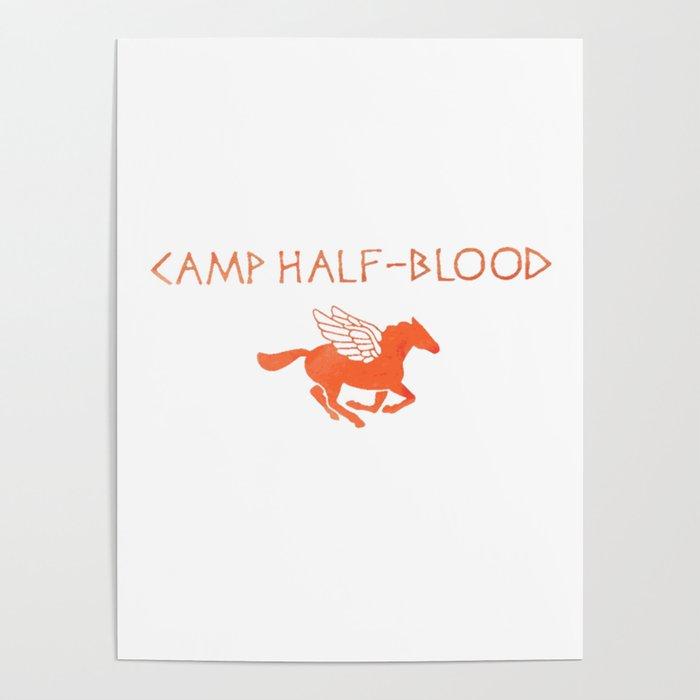 Camp Half Blood Original Poster By Fandomshirts