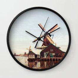 Windmill Netherland Wall Clock