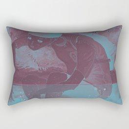 i cant swim Rectangular Pillow