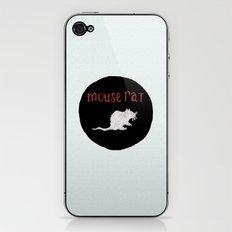 Mouse Rat iPhone & iPod Skin