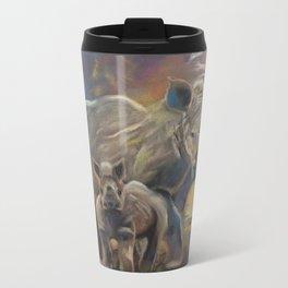 Rhino Love Travel Mug