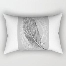 purity, peace & stars Rectangular Pillow