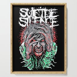 Suicide Silence Serving Tray
