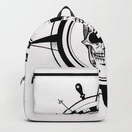 Skull Compass Backpack