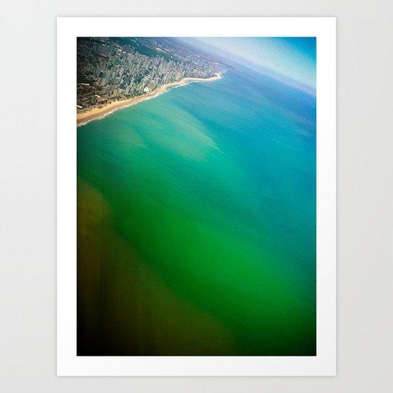 Salvador Beach III / Brazil Art Print