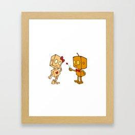 Bibo+Bobo Framed Art Print