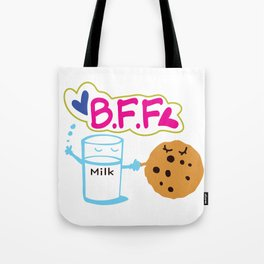 Milk and Choco chip cookie BFF Tote Bag