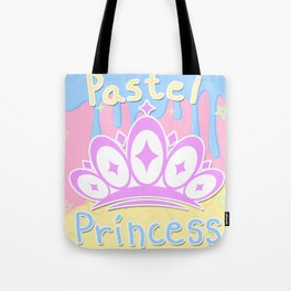 Pastel Princess Tote Bag