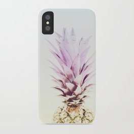 PASTEL PINEAPPLE no2 iPhone Case