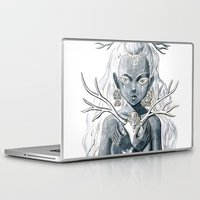 luna Laptop & iPad Skins featuring Luna by Freeminds