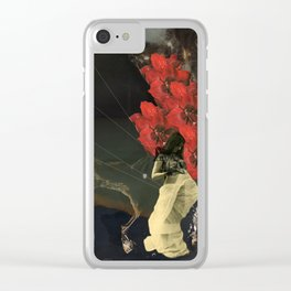 Stars and Tides Clear iPhone Case