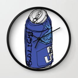 Bud Light Can Wall Clock