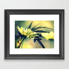 Touch me see me Framed Art Print