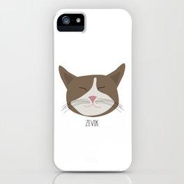 Family Cat Portraits, Zevik iPhone Case