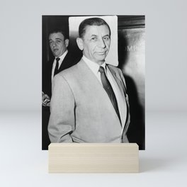 Meyer Lansky Photo - 1958 Mini Art Print