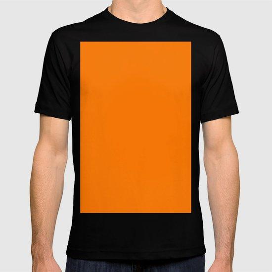 Safety orange (blaze orange) T-shirt