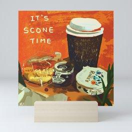 IT'S SCONE TIME Mini Art Print
