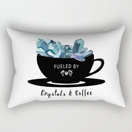 Crystals & Coffee Rectangular Pillow