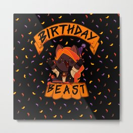 Birthday Beast (2018) Metal Print