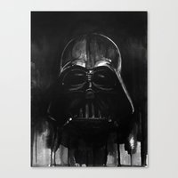 darth Canvas Prints featuring Darth by H.E.art