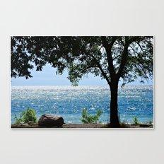 Beautiful Morning at the Lake Canvas Print