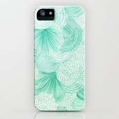 Green Fields Slim Case iPhone (5, 5s)