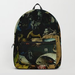 """Hieronymus Bosch """"The Garden of Earthly Delights"""" - Hell Backpack"""