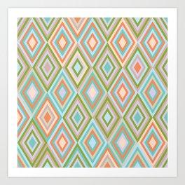 rhombus 2 Art Print