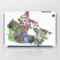 canada iPad Cases featuring Canada by minouette