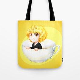 Little teacup Hunter Tote Bag