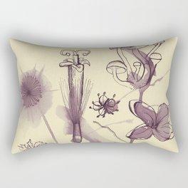 Flowers 3 Rectangular Pillow
