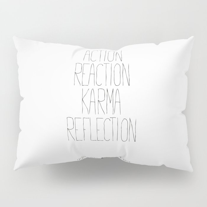 Golden Rules #1 Pillow Sham