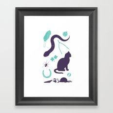 Good Luck / Bad Luck Framed Art Print