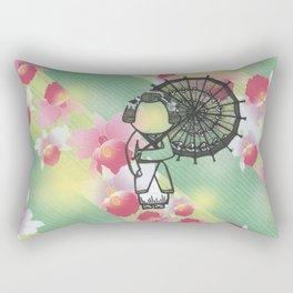 The Second Beautiful Geisha Rectangular Pillow