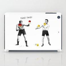 Floral fight iPad Case