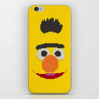 knit iPhone & iPod Skins featuring Knit Bert by colli13designs