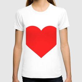 Heart (Red & White) T-shirt