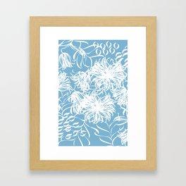 cool breezy Framed Art Print