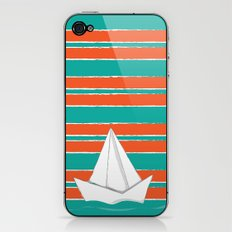 PaperBoat iPhone & iPod Skin