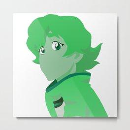 Green Pidge - Voltron Legendary Defender Metal Print