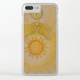 Manipura Clear iPhone Case