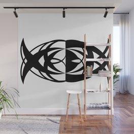 Fishtail Wall Mural