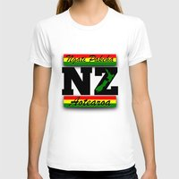 new zealand T-shirts featuring New Zealand  by mailboxdisco
