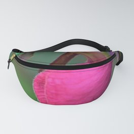 New England Wild Lady Slipper Orchid Flower Fanny Pack