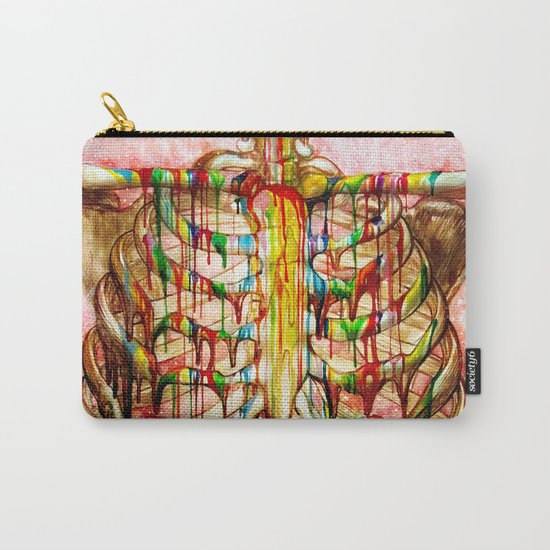 Dripping Bone Carry-All Pouch
