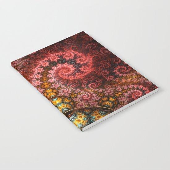 Unending dragon spiral Notebook