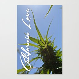 California Love **Green Rush edition Canvas Print